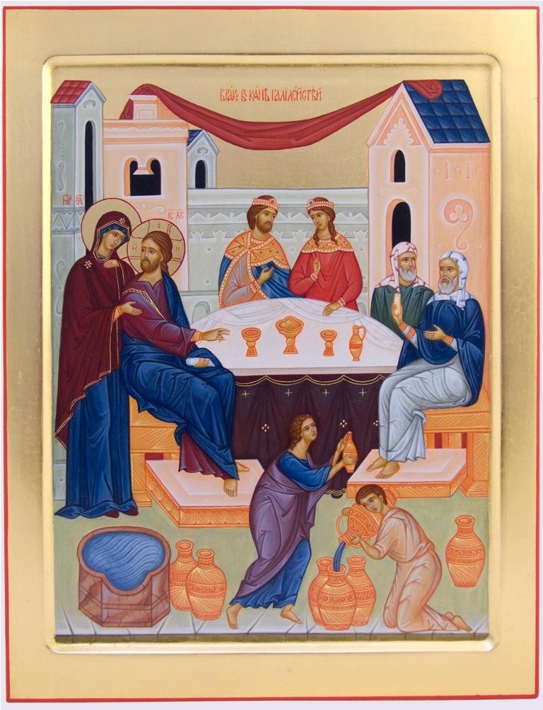 икона брак в канне галилейской арт галерея натальи янковской